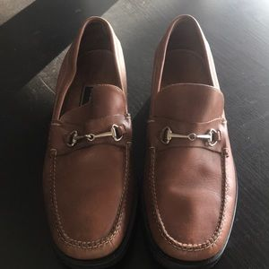 Cole Haan tan loafer NEW size 7.5 real leather